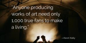 1,000 true fans dj